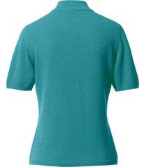 trui van 100% kasjmier, topkwaliteit, model sabine van peter hahn cashmere turquoise