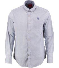 bluefields blauw overhemd