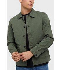 selected homme slhcharlie workwear jacket w jackor mörk grön