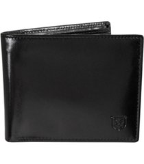 stacy adams leather bifold wallet