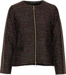 blazer jacket short 1/1 sleeve blazers bouclé blazers brun betty barclay