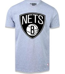 camiseta brooklyn nets big logo - nba .