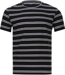 camiseta a rayas hombre color negro, talla s