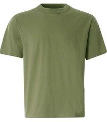 armor lux organic cotton heritage t-shirt | fern khaki | 78990-gxd