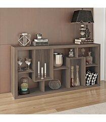 aparador/estante carvalho e1712 - tecno mobili