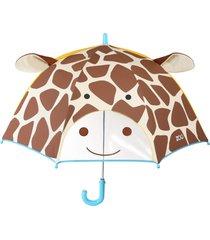 guarda chuva girafa skip hop bege - tricae