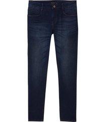 calça dudalina jeans stretch 5 pockets masculina (jeans escuro, 64)