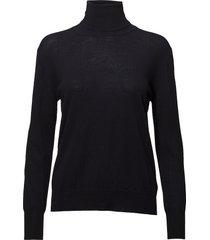 merino roller neck sweater turtleneck coltrui zwart filippa k