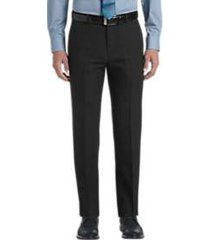 joe joseph abboud dark charcoal slim fit dress pants
