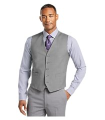 1905 collection tailored fit textured men's suit separate vest - big & tall by jos. a. bank