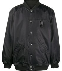 1017 alyx 9sm oversized bomber jacket - black