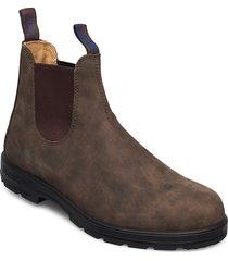 bl warm & dry range shoes chelsea boots brun blundst