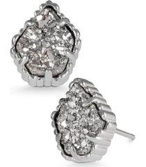 kendra scott drusy stone stud earrings