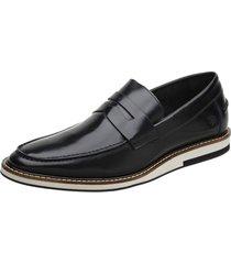 effe73de4a sapato casual masculino malbork em couro box preto 24513 preto