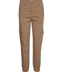 sevenpw pa pantalon met rechte pijpen beige part two