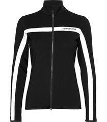 janice mid layer sweat-shirts & hoodies fleeces & midlayers zwart j. lindeberg golf
