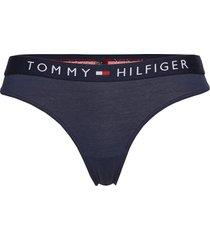 thong stringtrosa underkläder blå tommy hilfiger