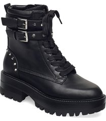 florice/stivaletto /le shoes boots ankle boots ankle boot - flat svart guess