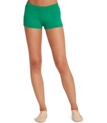 capezio boy cut low rise shorts