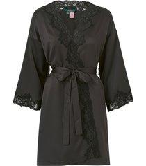 morgonrock lrl signature lace kimono robe