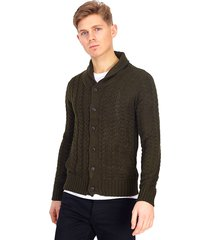 cardigan brave soul khaki - calce regular