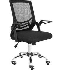 cadeira de escritório multilaser adapt braço ajustável ga204