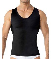 masculino interior camiseta negro leonisa 035017