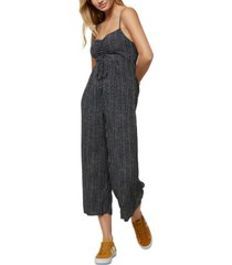 o'neill juniors' cropped jumpsuit