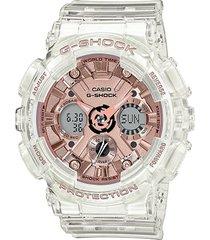 reloj g-shock modelo gma-s120sr-7adr transparente femenino