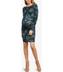 jessica simpson maternity ruched sheath dress
