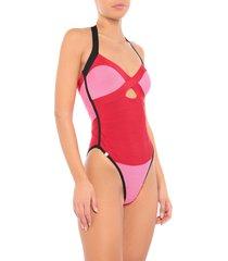 hervé léger one-piece swimsuits