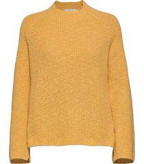 adela knit gebreide trui geel morris lady