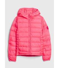 chaqueta coldcontrol rosa gap