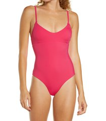 women's chelsea28 core one-piece swimsuit, size xx-large - pink
