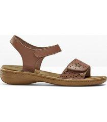 sandali in pelle (marrone) - bpc selection