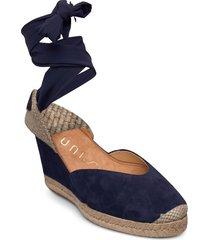 chufy_21_ks sandalette med klack espadrilles blå unisa