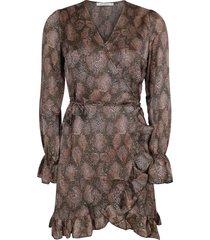 ambika jurk bruin tina