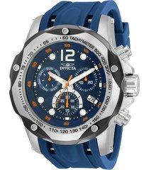 reloj invicta modelo 33960 azul oscuro hombre