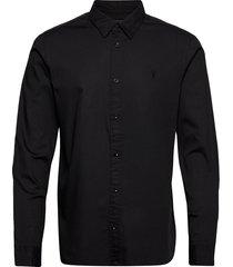 redondo ls shirt overhemd casual zwart allsaints