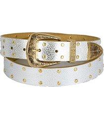 cinturon vaquero oro blanco cupida