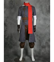 avatar the legend of korra mako cosplay costume men amime outfit custom made