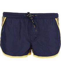 calzedonia boy's venice boxer-style mini me swimming trunks boy blue size 14