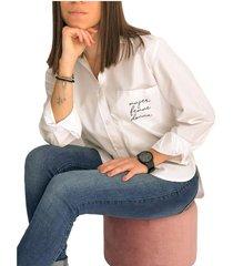 camisa en algodón women - la marquesa