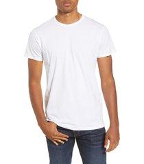 men's rag & bone classic base slim fit t-shirt, size xx-large - white
