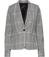 classic-fit washable bi-stretch blazer blazer colbert grijs banana republic