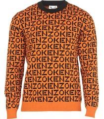 kenzo monogram sweater