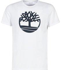 t-shirt korte mouw timberland ss brand reg tee white