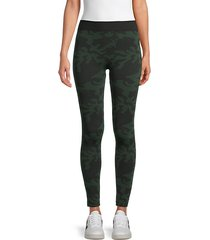 brushed seamless camo leggings