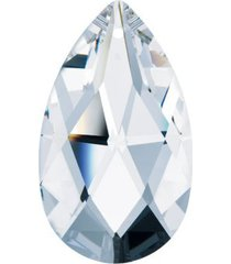 "prism clear 1.5"" swarovski crystal almond pendant chandelier part suncatcher"