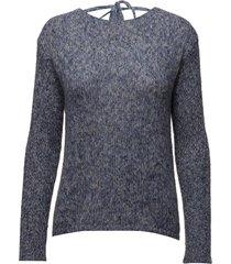 lois knit gebreide trui blauw hunkydory